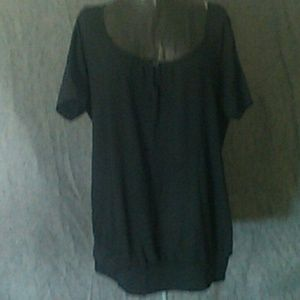 NWT Black Xl summer or spring short sleeved shirt